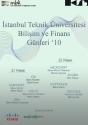 İTÜ Bilişim ve Finans Günleri '10