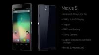 Nexus 5 Tanıtıldı !