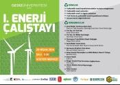 1. Enerji Çalıştayı | Gediz Üniversitesi