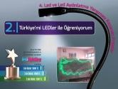 Türkiye'mi LED'ler ile Öğreniyorum | 4. LED ve LED Aydınlatma Yarışması İkincisi