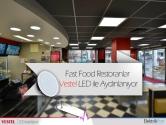 Fast Food Restoranları Vestel LED Aydınlatma Ürünleri Kullanıyor