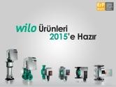 Wilo Ürünleri 2015'e Hazır