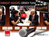 EAE Aydınlatma İhracat Müdürü Erdem Tuna | 2014 LED&LED Aydınlatma Fuarı Video Röportaj