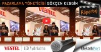 VESTEL Pazarlama Yöneticisi Gökçen Kesgin | 2014 LED&LED Aydınlatma Fuarı Video Röportaj
