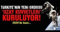 TSK 'nın Yeni Ordusu   Türk Uzay Kuvvetleri