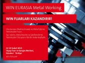 WIN Metal Working Fuarı 12-15 Şubat'ta