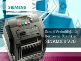 Enerji Verimliliği İçin Benzersiz Özellikler | Siemens SINAMICS V20