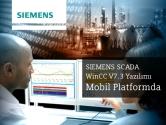 SIEMENS SCADA WinCC V7.3 Yazılımı Mobil Platformda