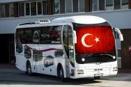 Türkiye'nin İlk Güneş Paneli Destekli Otobüsü