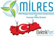 MİLRES Projesi ile Yerli Rüzgar Enerji Santralleri