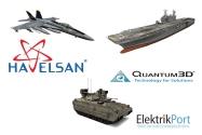 HAVELSAN ABD Menşeli Quantum3D Şirketini Satın Aldı