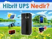 Hibrit UPS Nedir?