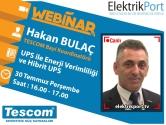 Tescom Webinar | UPS ile Enerji Verimliliği ve Hibrit UPS