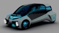 Toyota'nın Yeni Hidrojen Yakıt Hücreli Aracı Evinize de Elektrik Sağlayacak
