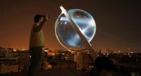 Küresel Mercekli Güneş Paneli ile Geceleri de Elektrik Üretilebilecek