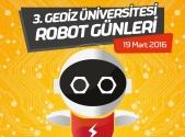 3. Gediz Robot Günleri | Gediz Üniversitesi Robotik Kulübü