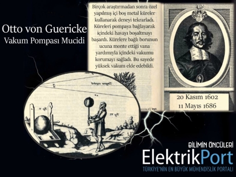Otto von Guericke | Vakum Pompası Mucidi