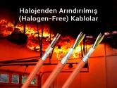 Halojenden Arındırılmış (Halogen-Free) Kablolar
