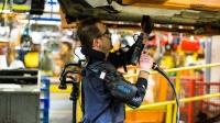 Üretim Hattı İşçileri için Mekanik İskelet