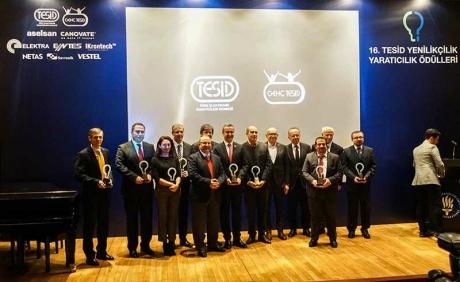 16. TESİD Yenilikçilik Yaratıcılık Ödülleri Sahiplerini Buldu