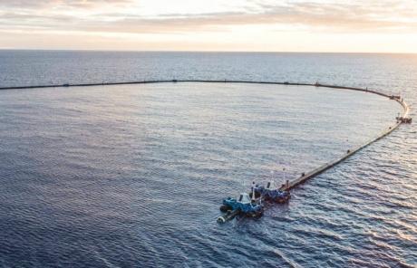 Okyanus Temizleme Sistemi Çalışmaya Başladı