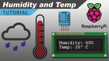Raspberry Pi ile DHT11 Sıcaklık ve Nem Sensörü