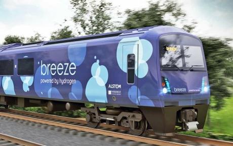 İngiltere'nin Yeni Hidrojen Treni: Breeze