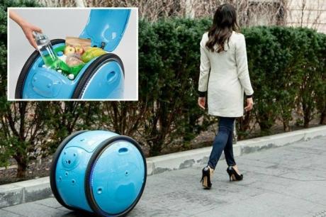 Robotlar Artık Alışveriş Çantalarımızı Taşıyacak!