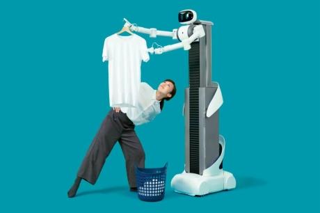 Çamaşırlarınızı Yıkayabilecek Robot Geliştirildi