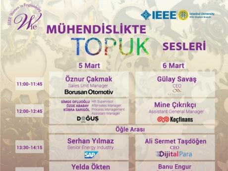 Mühendislikte Topuk Sesleri | IEEE İstanbul Üniversitesi