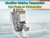 Modüler Makine Tasarımları için Push-in Klemensler |  Phoenix Contact