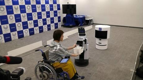 2020 Olimpiyatlarında Robotlar İnsanlara Yardım Edecek