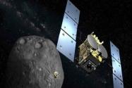Japonlar  Uzay Aracı ile Gök Taşını Bombaladı