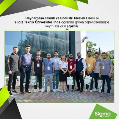 Sigma Elektrik Eğitime Destek Vermeye Devam Ediyor