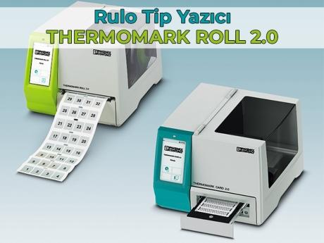 Rulo Tip Yazıcı: THERMOMARK ROLL 2.0