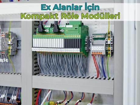 Ex Alanlar İçin Kompakt Röle Modülleri | Phoenix Contact