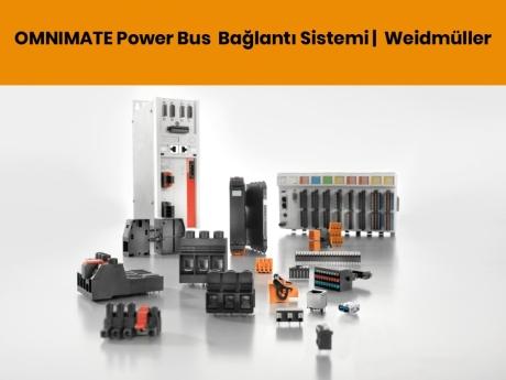 OMNIMATE Power Bus Bağlantı Sistemi | Weidmüller