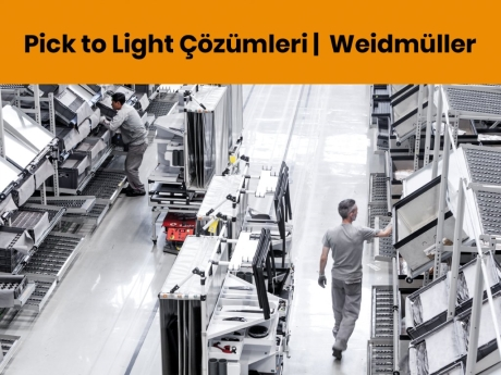 Pick to Light Çözümleri | Weidmüller