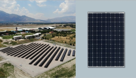 Erzincan Havalimanı'na Güneş Enerjisi Verecek Proje Açıldı