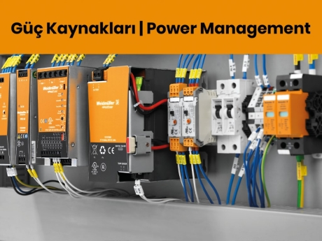 Weidmüller Güç Kaynakları | Power Management
