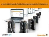 u-control 2000 web ile Yenilikçi Otomasyon Çözümleri  I Weidmüller