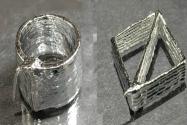 Kafes Formunda Sıvı Metal Geliştirildi