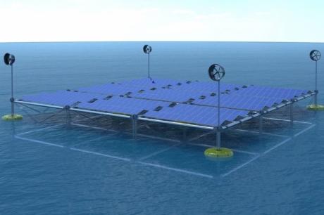 Rüzgar, Güneş ve Dalgadan Elektrik Üreten Sistem Geliştiriliyor