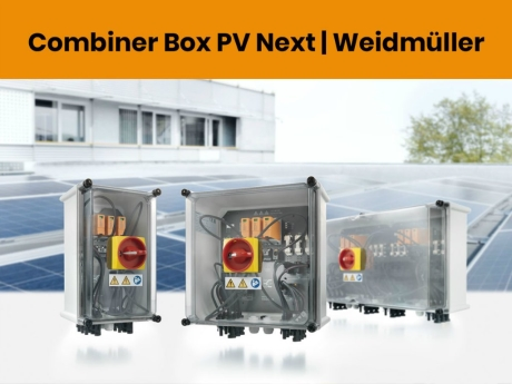 Combiner Box PV Next   Weidmüller