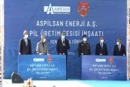 Türkiye'nin İlk Lityum İyon Batarya Üretim Tesisinin Temeli Atıldı