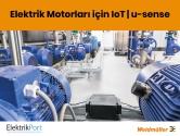 Elektrik Motorları için IIoT | Weidmüller u-sense