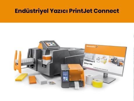 Endüstriyel Yazıcı PrintJet Connect | Weidmüller