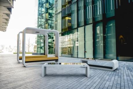 Güneş Enerjili Akıllı Banklar Geliştirildi