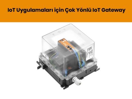 IoT Uygulamaları için Çok Yönlü IoT Gateway   Weidmüller