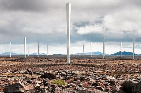 Pervanesiz Rüzgar Türbinleri Geliştiriliyor